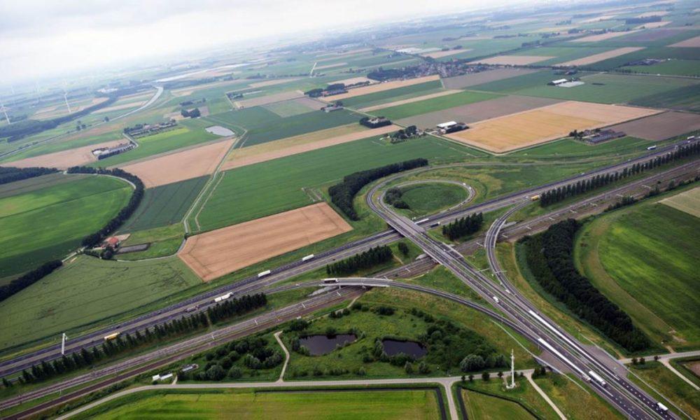 28 windmolens langs snelweg A16 bron projectwebsite